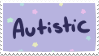 Autistic Stamp by painttoolsy