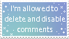 Comment Stamp by painttoolsy