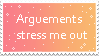 Arguement Stamp by painttoolsy