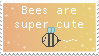 Bee Stamp by painttoolsy