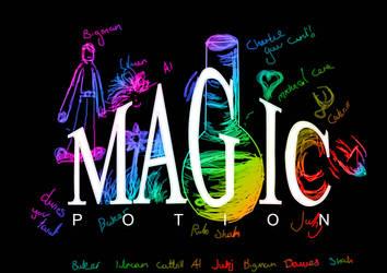 Magic potion by Jaymagicpotion