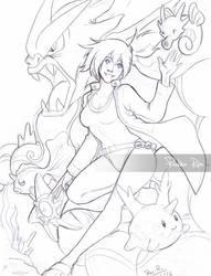Gym leader: Misty by RikaChan3