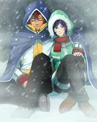 Snow Fairy by RikaChan3
