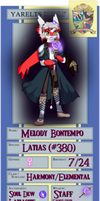 .:PKA - Melody Bontempo:. by LunaliaArts