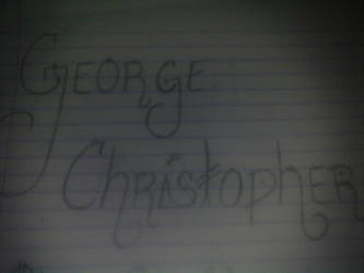 My Name.. xD by ChristtopherCh