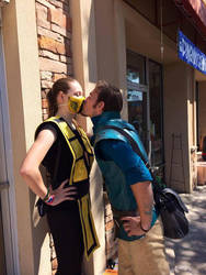 Stolen kiss (Finish Him) by 23rddaycosplay