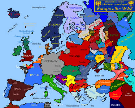 Blank map of Europe 1944 (IM, Outdated) by EricVonSchweetz on DeviantArt