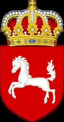Lesser coat of arms of Hanover (IM) by EricVonSchweetz