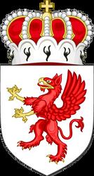 Lesser coat of arms of Pomerania (IM) by EricVonSchweetz