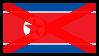Anti-North Korea Stamp by EricVonSchweetz