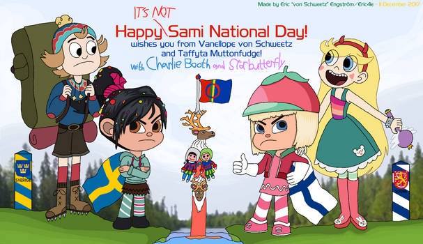 It's not Happy Sami National Day! by EricVonSchweetz
