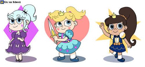 Child Princesses of Mewni by EricVonSchweetz