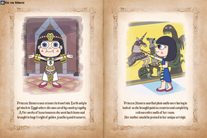 Princess Hemera's favorite things by EricVonSchweetz