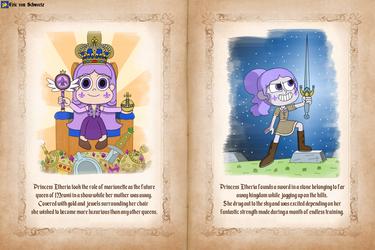 Princess Etheria's favorite things by EricVonSchweetz