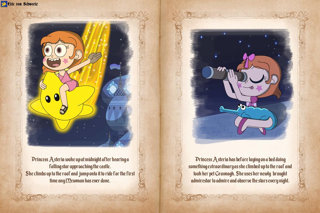 Princess Asteria's favorite things by EricVonSchweetz