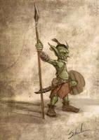 Goblin concept by Schnedler