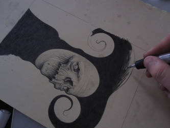 Pencil To Paper... by lordego1
