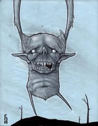 Wendigo sketch by lordego1
