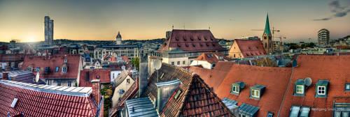 Stuttgart downtown by wulfman65