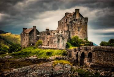 Mystery Castle 3, Eilean Donan Castle by wulfman65