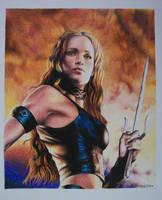 Elektra - Jennifer Garner by ALEJANDROxxx