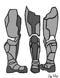 Leg armor/boot by Delta939