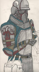 Combat/riot armor desing by Delta939