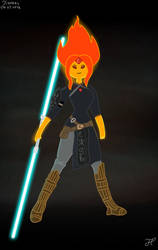 Princess Phoebe-Adventure Time x Star Wars by Andrasfu1027