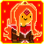 Flame Princess Pixel Icon #2 by Andrasfu1027