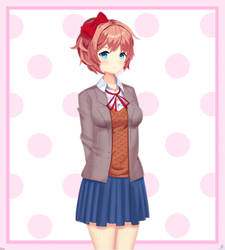 Sayori-Doki Doki Literature Club by Andrasfu1027