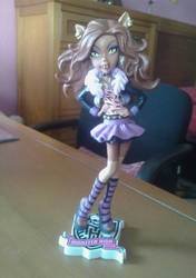 New Clawdeen Figure  by alice-in-wonderland2