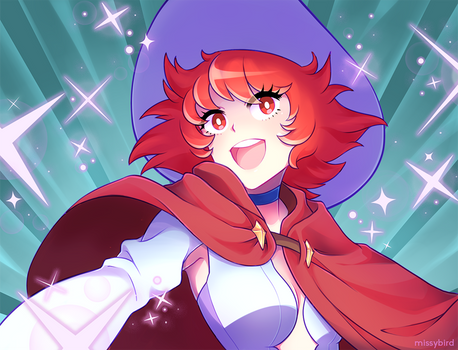 Little Witch Academia Shiny Chariot by missybird