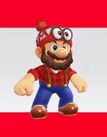 Mario Odyssey Outfit - Lumberjack Mario by AlexJohnsonArt