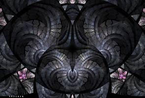 Textured Escher by Prelkia