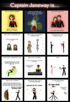 Captain Janeway is... by Sanne-chan