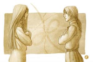 Scayn and Arvran... by melusineistross
