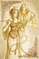 Alexine and Tark... by melusineistross