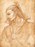 Kai, the shell master by melusineistross