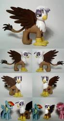 Gilda Custom G4 'Pony' Griffin by Oak23