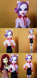 Custom Monster High Rarity by Oak23
