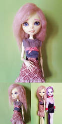 Custom Monster High MLP Fluttershy by Oak23
