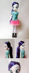 Custom Equestria Girls Rarity by Oak23