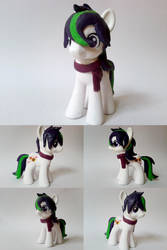 OC Triptych G4 Custom Pony by Oak23