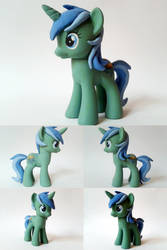 Azure Verdance OC G4 Custom Pony by Oak23