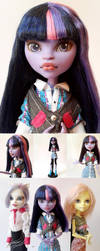 Twilight Sparkle Custom Monster High Doll by Oak23