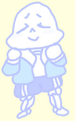 Cute Sans by SonicLover1523