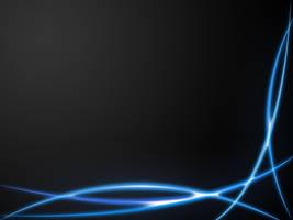 Blue Plasma on Grey by BadlyDrawnDuck