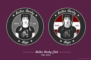 Roller Derby Club by ru-illuzionist