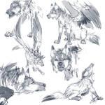 Hitachi Sketches by FireofAnubis