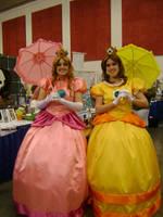 Fanime 2010: Peach and Daisy by p0npudding